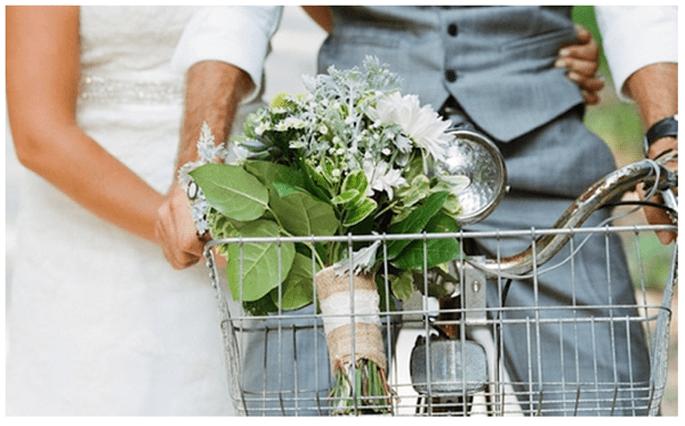 Fotos de boda con bicicletas - Foto Kallima Photography