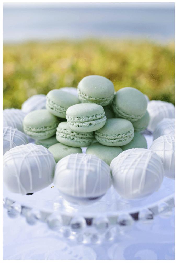 Macarons para el postre de tu boda - Foto Stacey Hedman