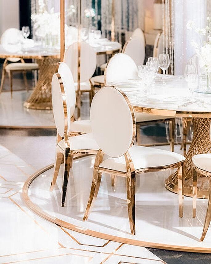 Tagliaferry Company mobiliario para bodas Bogotá
