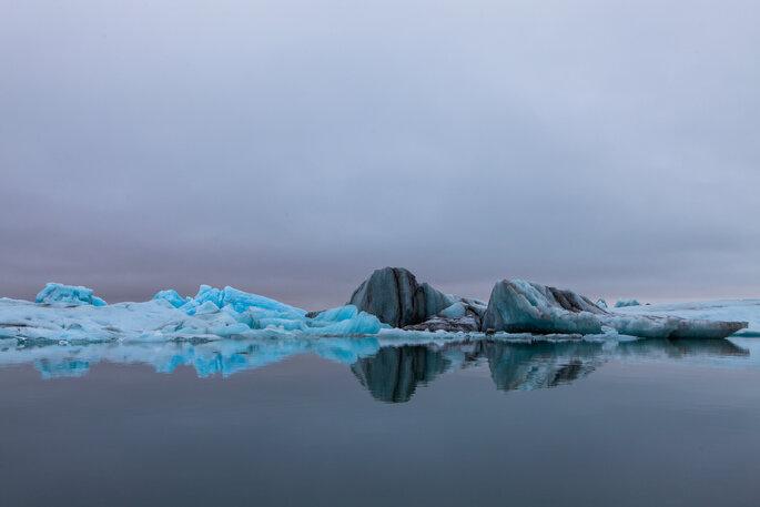 Le glacier de Jökulsárlón