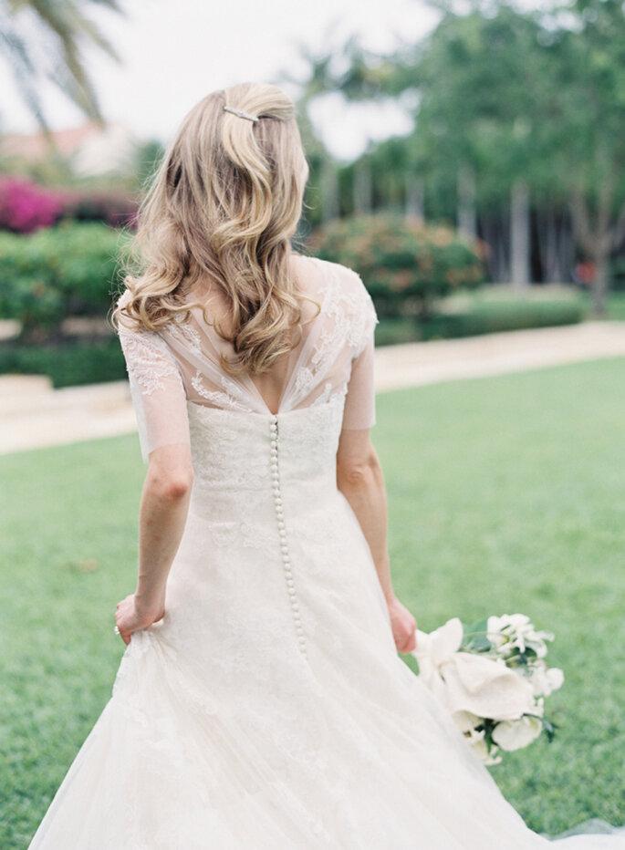 Brautfrisuren mit offenen Haaren