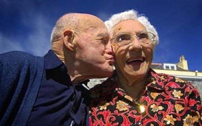 Frank und Anita Milford sind schon über 80 Jahre verheiratet