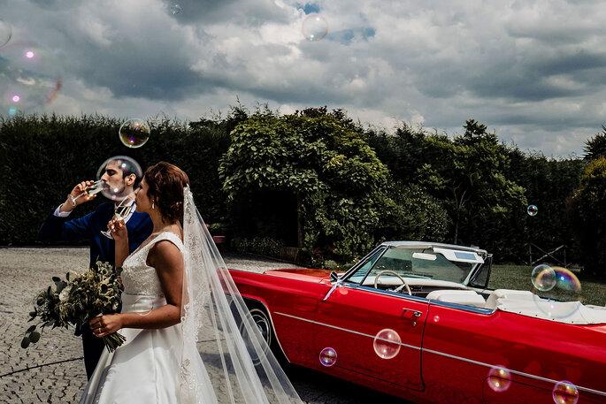 Celebração dos noivos