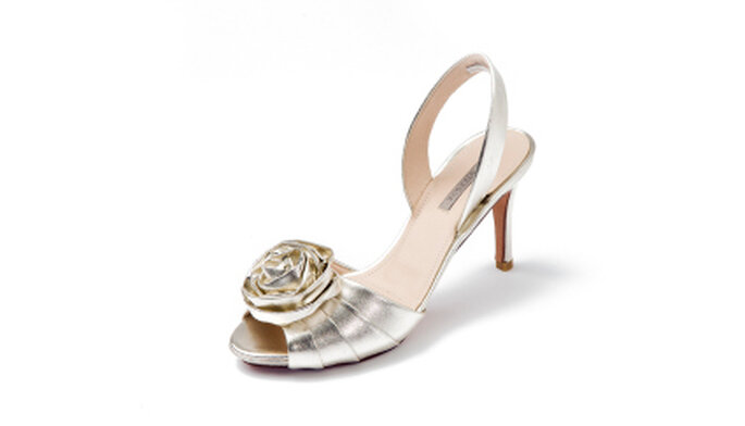 Colección de zapatos de novia de Uterque