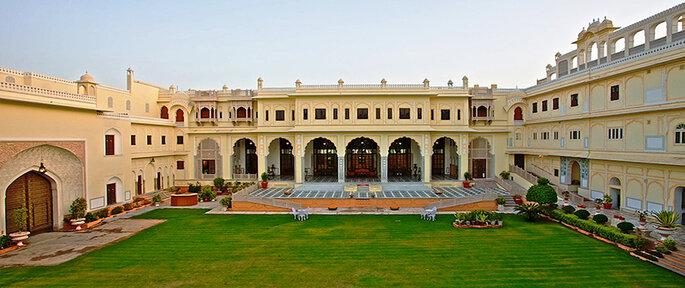 Photo: The Raj Palace.