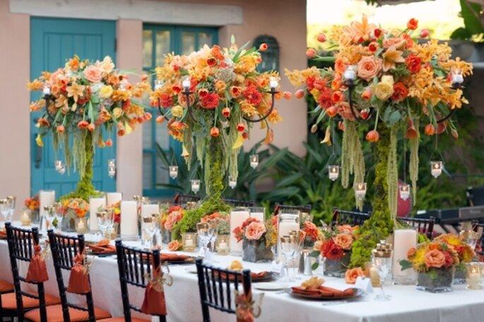 Mesa de bodas de otoño de AileenTranEventStylist. Foro de Pam Scott