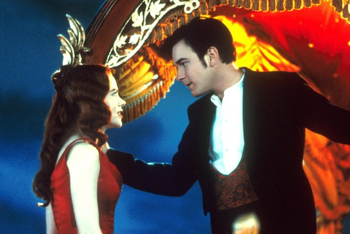 amour cinéma films romantiques moulin rouge paris