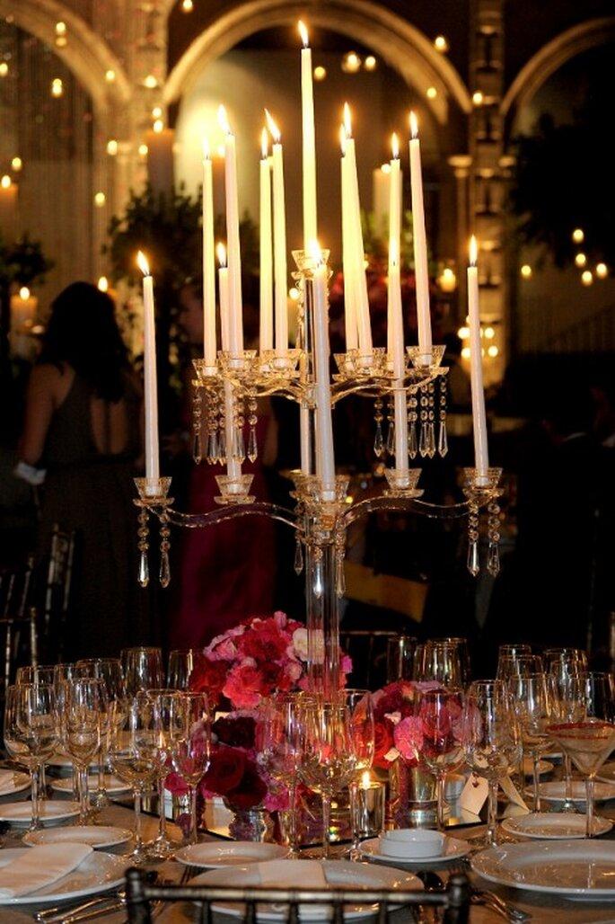 Decoración para una boda de noche - Foto Floresta en San Hipólito