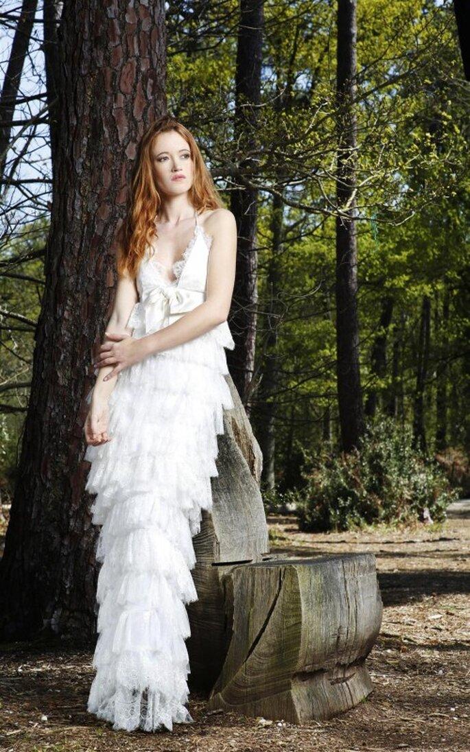 La robe de mariée Sitael de la collection Gwanni 2014 va séduire les romantiques...