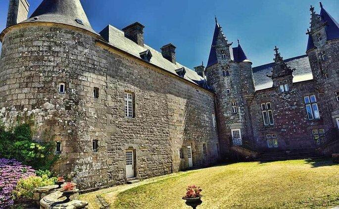 Lieu de réception pour votre mariage - château médiéval