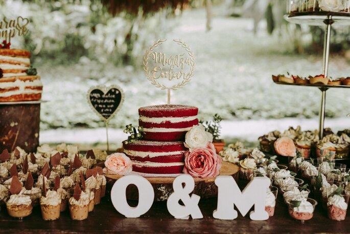 Mesa de dulce para boda