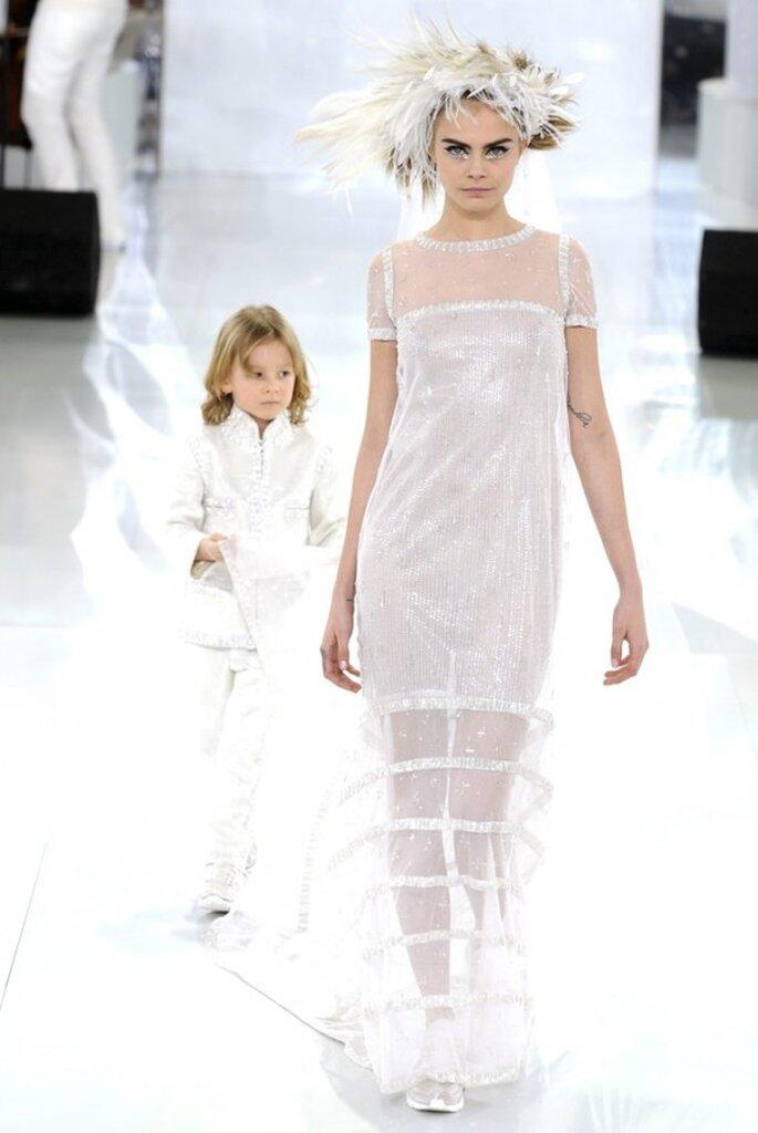 Los vestidos de novia alta costura que nos robaron el aliento este 2014 - Foto Chanel