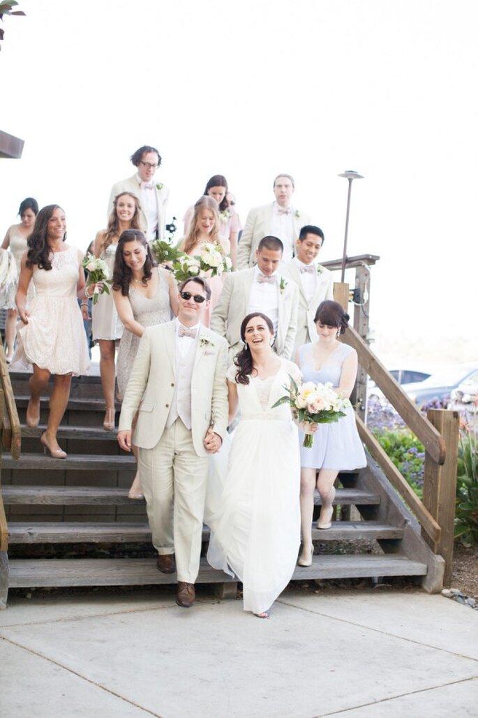 Las bodas pequeñas como tendencias - Foto Natalie Bray Photography