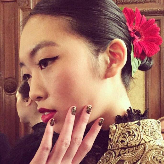 9 tendencias de belleza que transformarán el 2015 -Alice + Olivia Facebook oficial