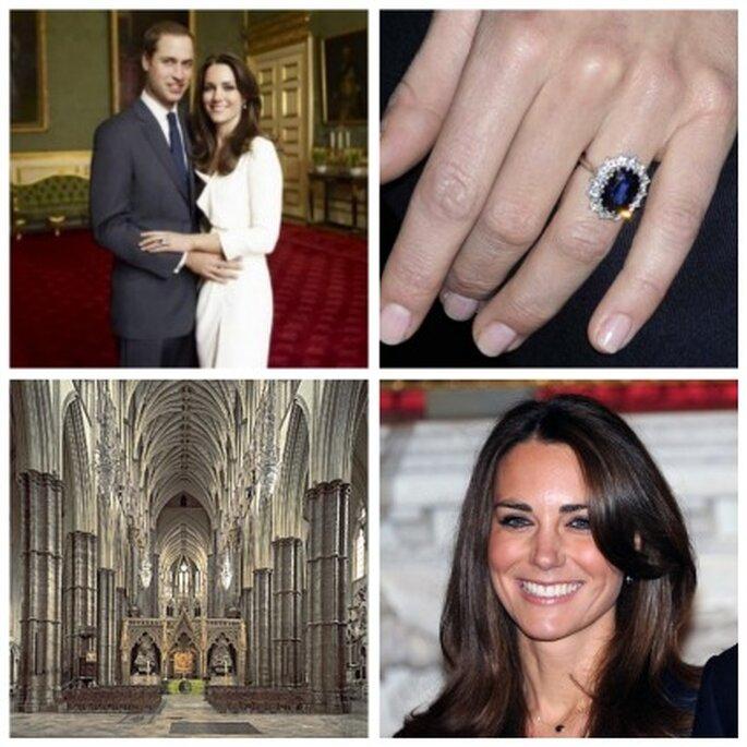 La boda real británica de Kate Middleton y Guillermo