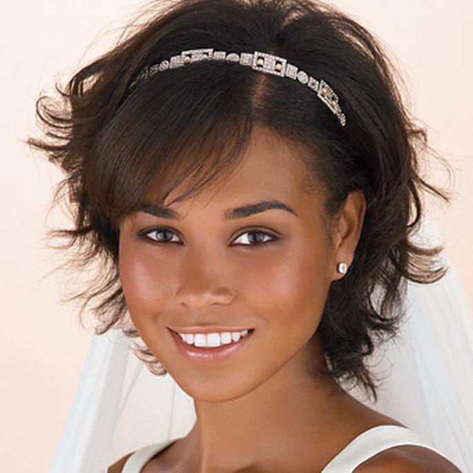 Peinado novia pelo corto