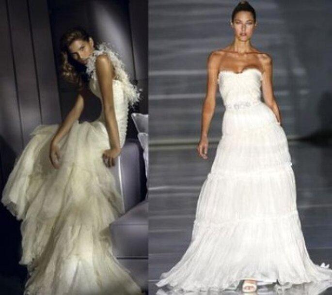 Vestidos de novia blanco simbolo de pureza y felicidad