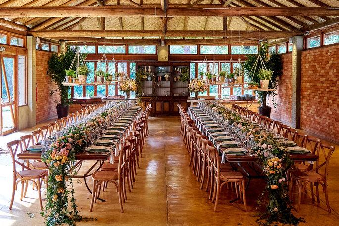 Decoração mesas casamento