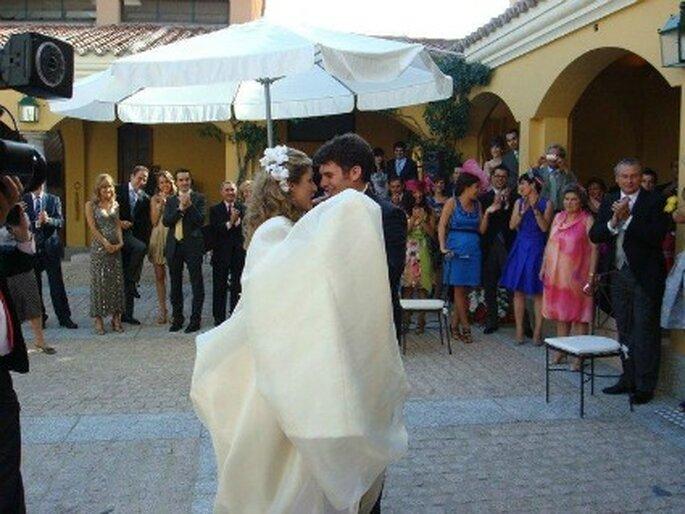 Momento vals de la boda de Sole y Dani