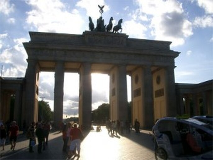 Berlín y su puerta de Barnderburgo