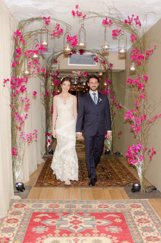 Noivos Natalia e Paulo