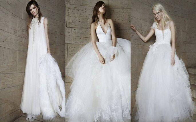 Vestidos de novia de Vera Wang - Colección primavera 2015