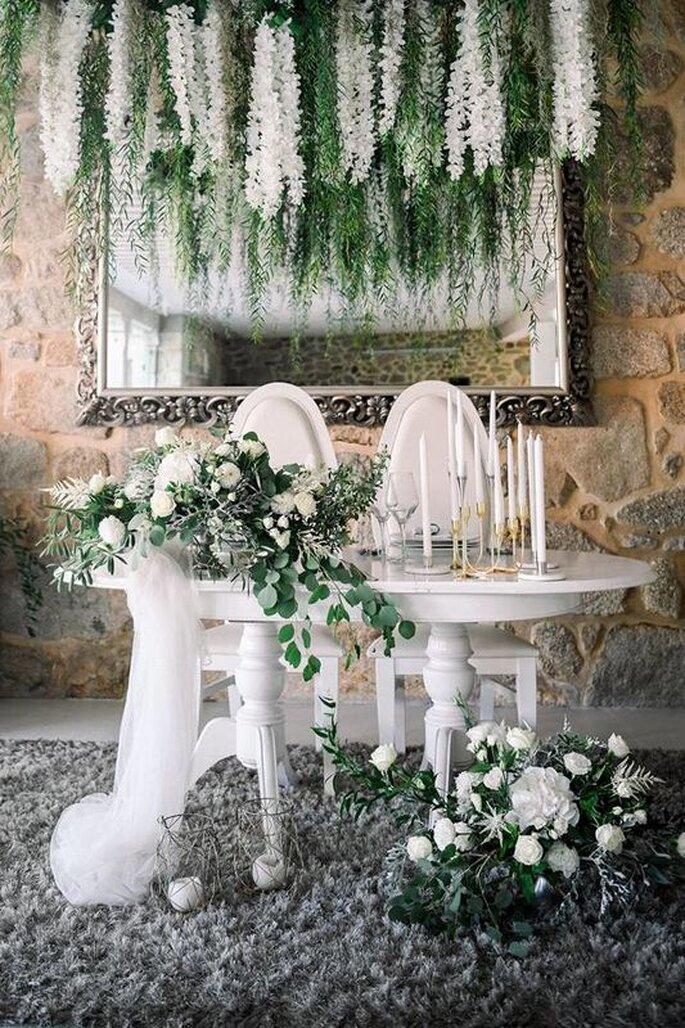 decoração classica casamento
