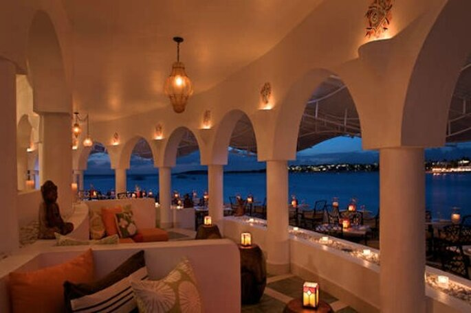 Uno dei ristoranti del resort Cap Juluca di Anguilla