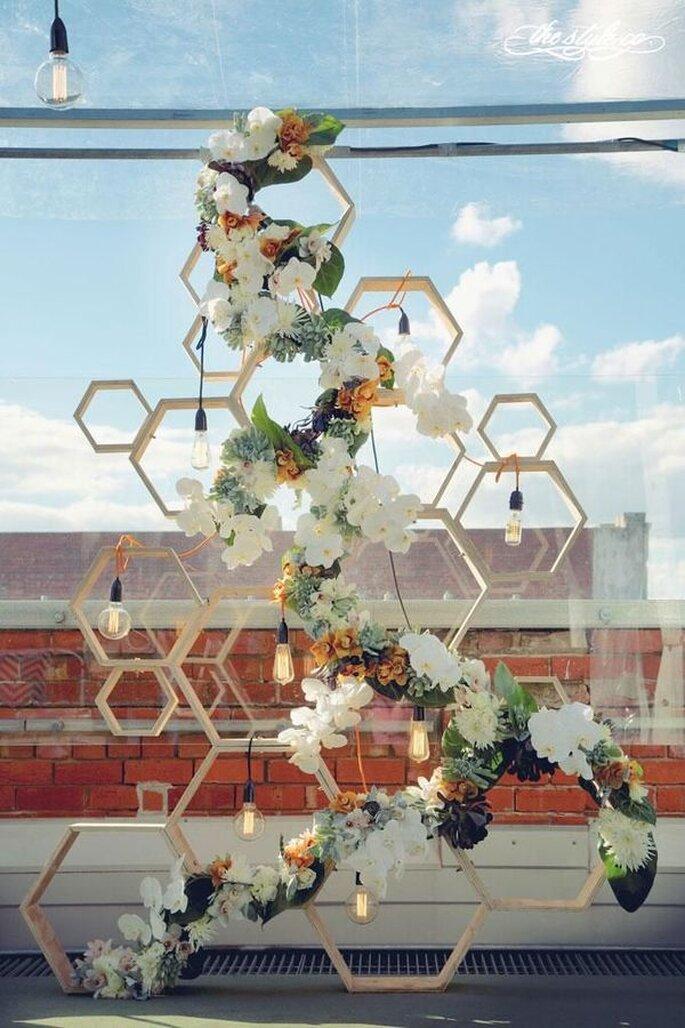 Bodas geométricas como tendencia para 2015 - Hikari Photography