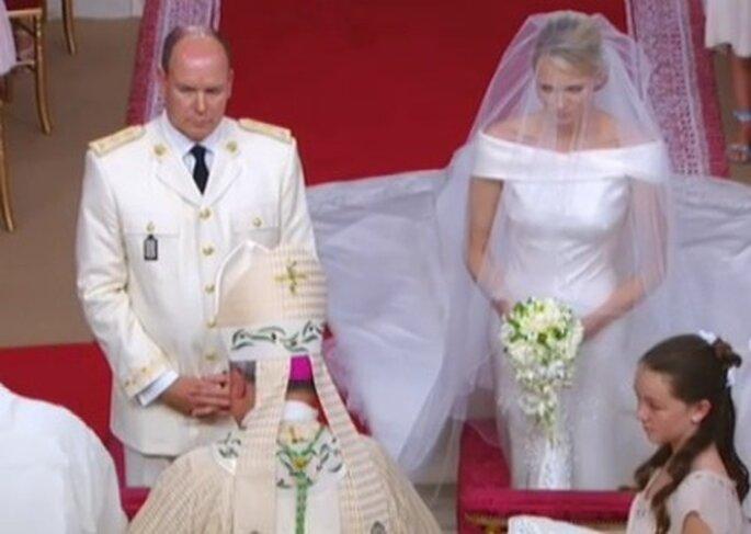 Charlene Wittstock heiratet Fürst Albert II. von Monaco.