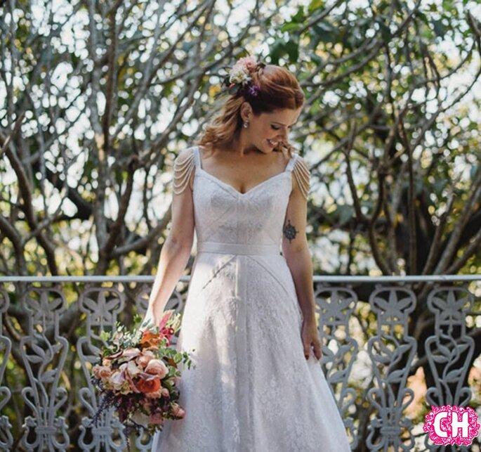3aa8e0dc58 Vestido de noiva para casamento ao ar livre  saiba como escolher!