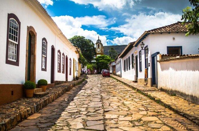 Rua Direita em Tiradentes