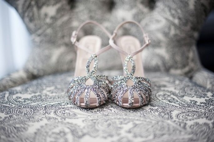 "Zapatos retro inspirados en el look de ""The Great Gatsby"" - Foto Justin & Mary"
