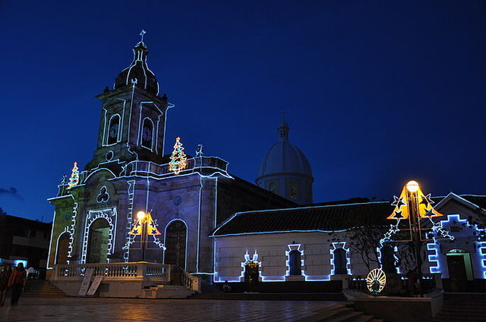 Catedral de Paipa, Boyacá. Foto: wikimedia.org - Pauk