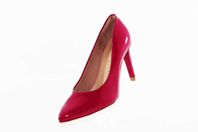 sapato pink para noiva