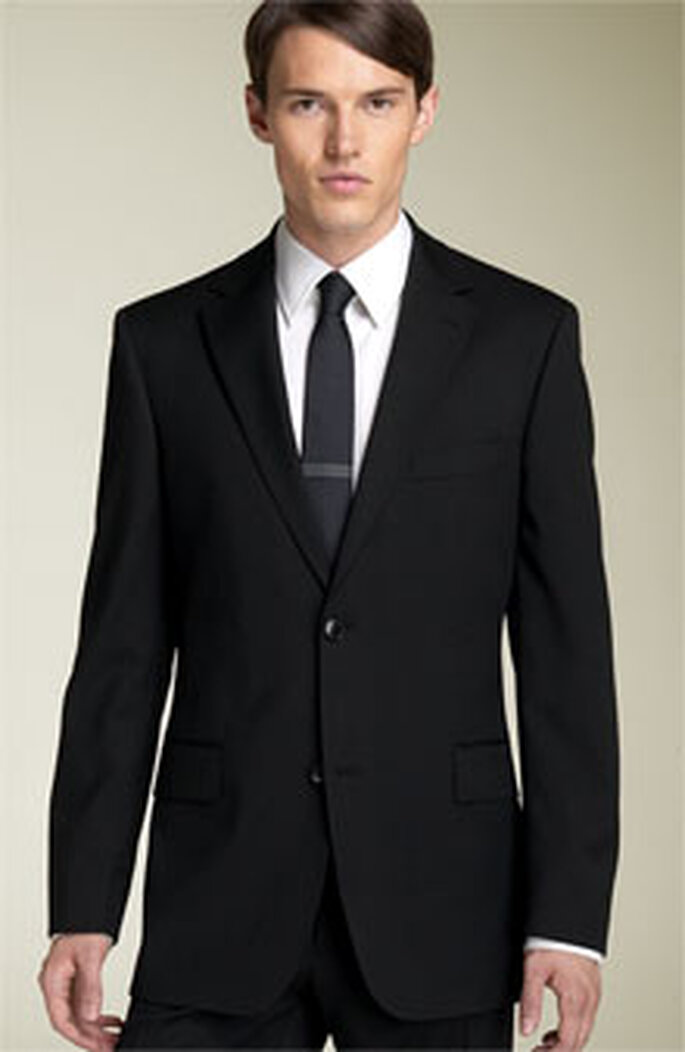 Black Passolini Suit by Hugo Boss, £479