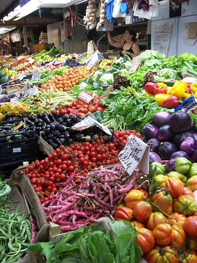 Les fruits et légumes sont les principaux alliés de la future mariée ! - Photo : Renaud Roussel
