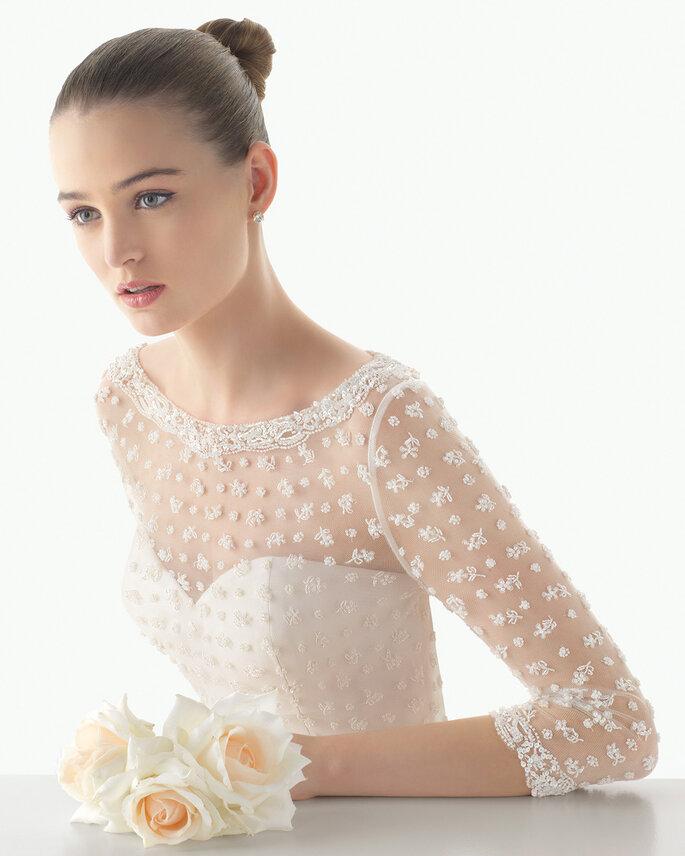 Entdecken Sie die Brautkleider der Kollektion Soft von Rosa Clará!