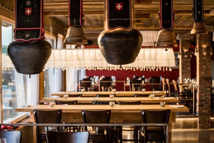 Restaurant im Hotel Alpenblick Weggis.