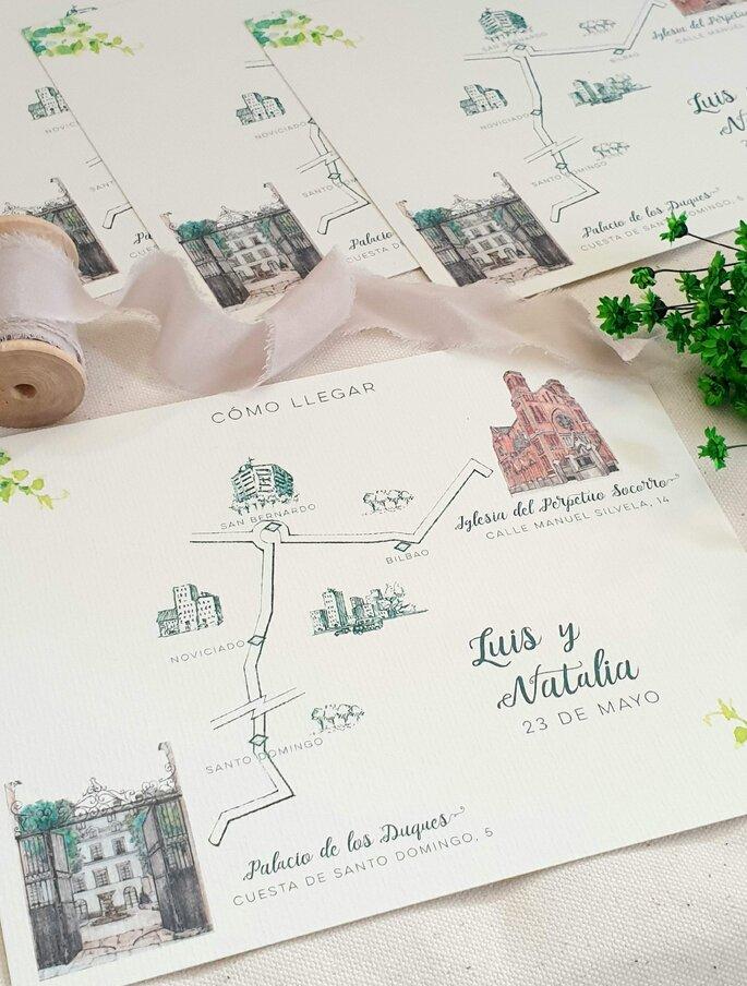 Maresa Carles, Invitaciones de boda Madrid