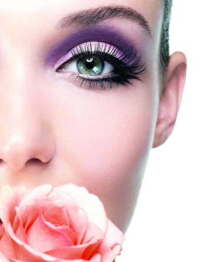 Cat eye makeup for your wedding, there is nothing like - Photo: Lancome Make-up Blog via Facebook