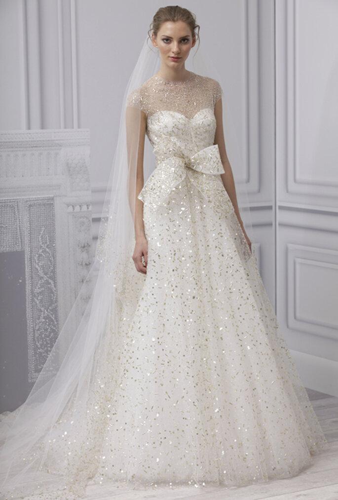 5 cosas que nos encantan de los vestidos de novia monique lhuillier