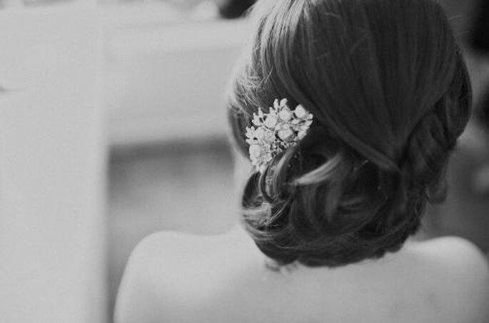 Peinados para bodas. Foto Nadia Meli.