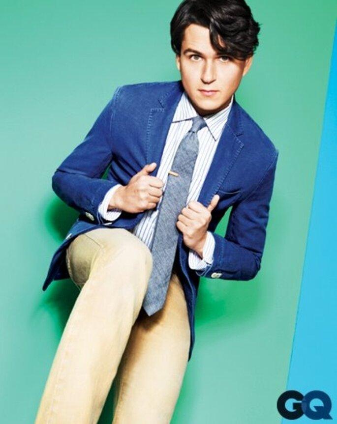 Estilo colorido y casual para hombre en primavera 2013 - Foto GQ