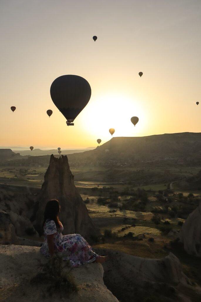 La blogger Anna Pernice consiglia la Cappadocia a chi sogna una luna di miele originale e fuori dagli schemi