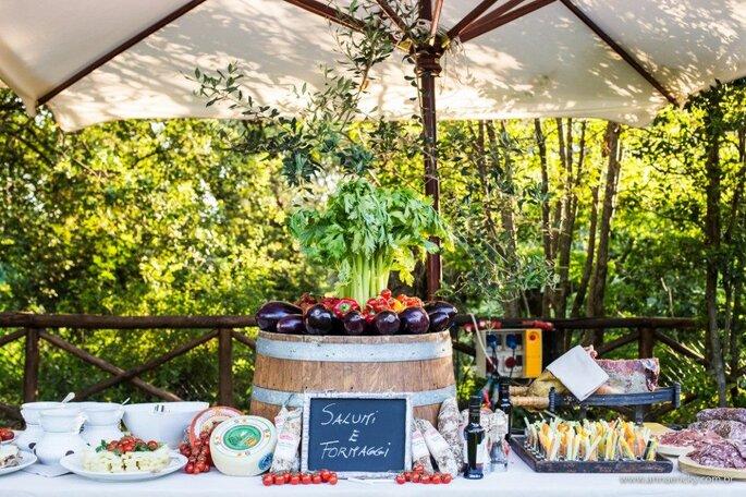 Pratos italianos para casamento