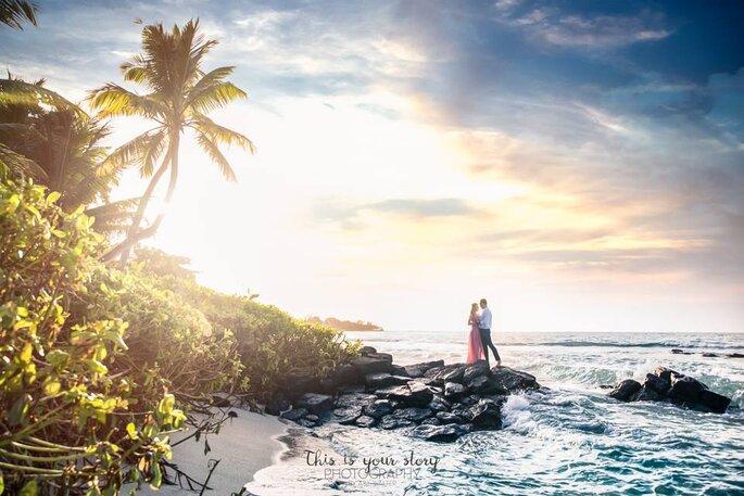 Wesele na plaży Mauritius