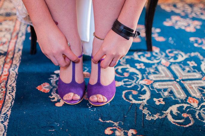 Sapatos roxos The Day Shoe