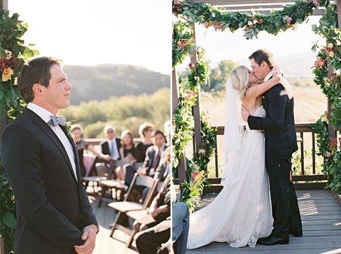 Una boda inspirada en un estilo boho glam al aire libre - Foto Lane Dittoe