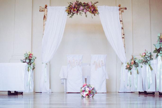 Hochzeitsfloristik Blumenfenster Dachau